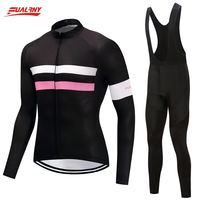 Genuine Fualruy 2018 Spring Long Sleeve Cycling Jersey Sets Mens Pro Tour Racing Bicycle Clothing Uniformes