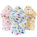 Inverno engrossar Algodão Meninas Infantis Sacos de Dormir Para Carrinho de Bebê Recém-nascido Bonito Sleepsacks Envelope Quente Para A Criança À Prova de Vento