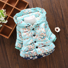 Infant Baby Girls Coat Jacket 2019 Autumn Winter Jackets For Baby Coat Kids Warm Outerwear Coat For Baby Jacket Newborn Clothes cheap Fashion COTTON C0055 Fits true to size take your normal size Full Outerwear Coats cartoon Worsted Hooded Children REGULAR