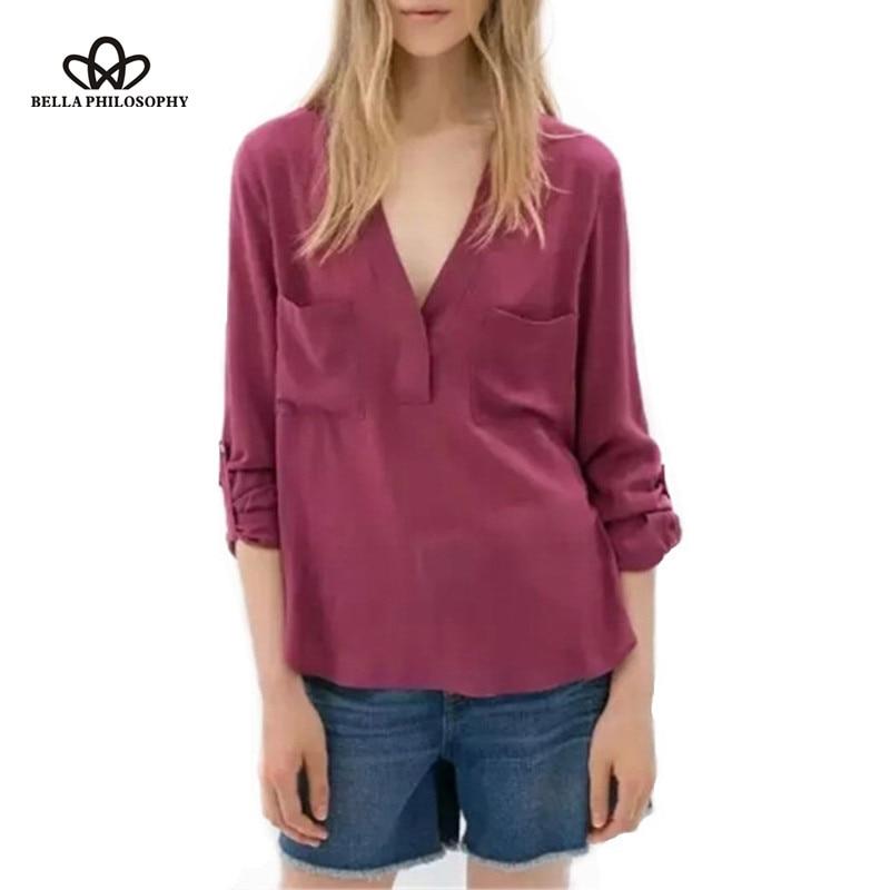 Popular Wrap Shirts Blouses-Buy Cheap Wrap Shirts Blouses lots ...