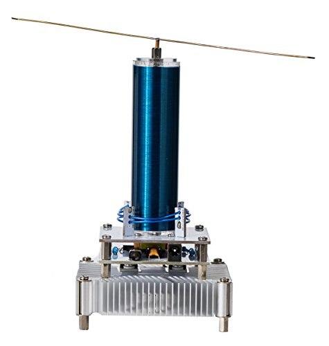 Kit de modèle d'expérience de Transmission sans fil de haut-parleur de Plasma de bobine de Tesla de musique - 2