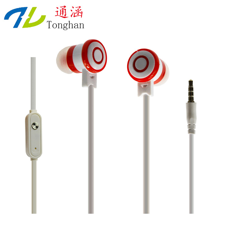 8827 3.5mm Earphones Headsets Stereo Earbuds For mobile phone MP3 MP4 For PC