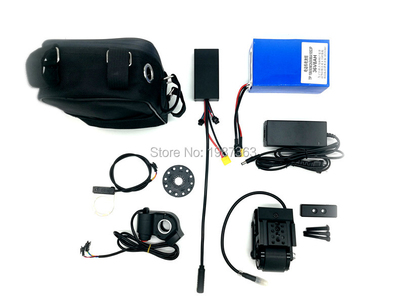 Pedelec DIY KIT (booster+controller Includeing Battery) Change Your Bicycle Into