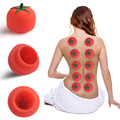 1 pc Super suction Family Body Massage Device Helper Anti Cellulite Vacuum Cup Silicone Cupping Cups Tomatoes Shape Health Care