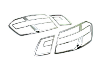 Novo Frete grátis W212 Chrome Tail Light Capa para Mercedes Benz Classe E-Frete Grátis
