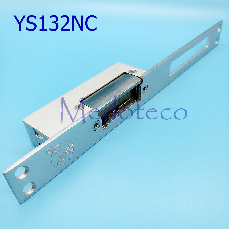 Access Control Electric Strike Lock NC Long-type Electric Strike yli YS132NC Fail Safe Strike Lock High Quality yli best quality standard type electric strike lock fail safe electric door lock access control lock ys130nc nc lock