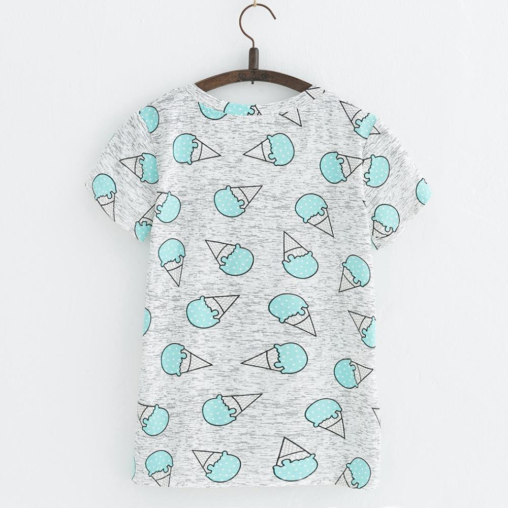 HTB1WFYXRFXXXXcqaXXXq6xXFXXXv - Hot Style Pineapple Print Tees Short Sleeve T-shirt Women