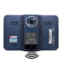 Лучший 7 дюймов GPS навигации Android GPS DVR видеокамеры Антирадары Allwinner A33 4 ядра 4 Процессоры/Европа/Навител