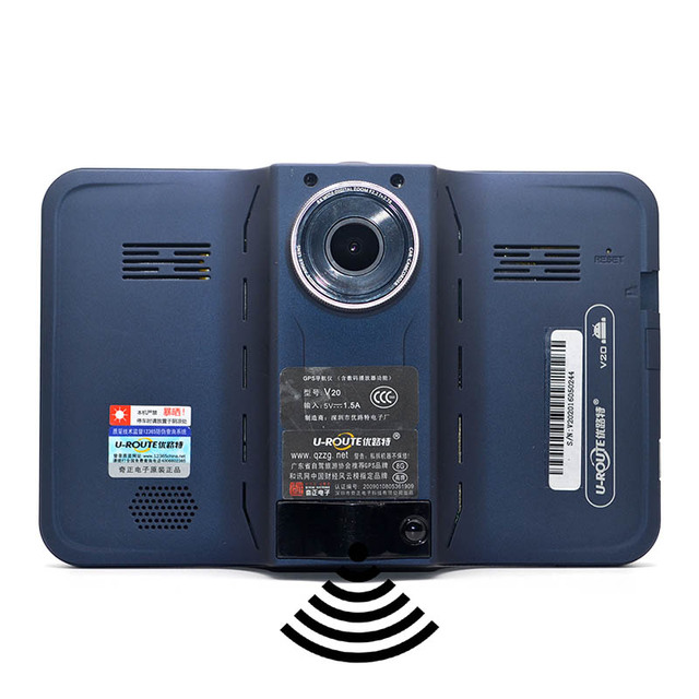 MEJOR 7 pulgadas GPS Android Navegación GPS Detector de Radar DVR Videocámara Allwinner A33 Quad Core 4 Cpu/Europa/Navitel