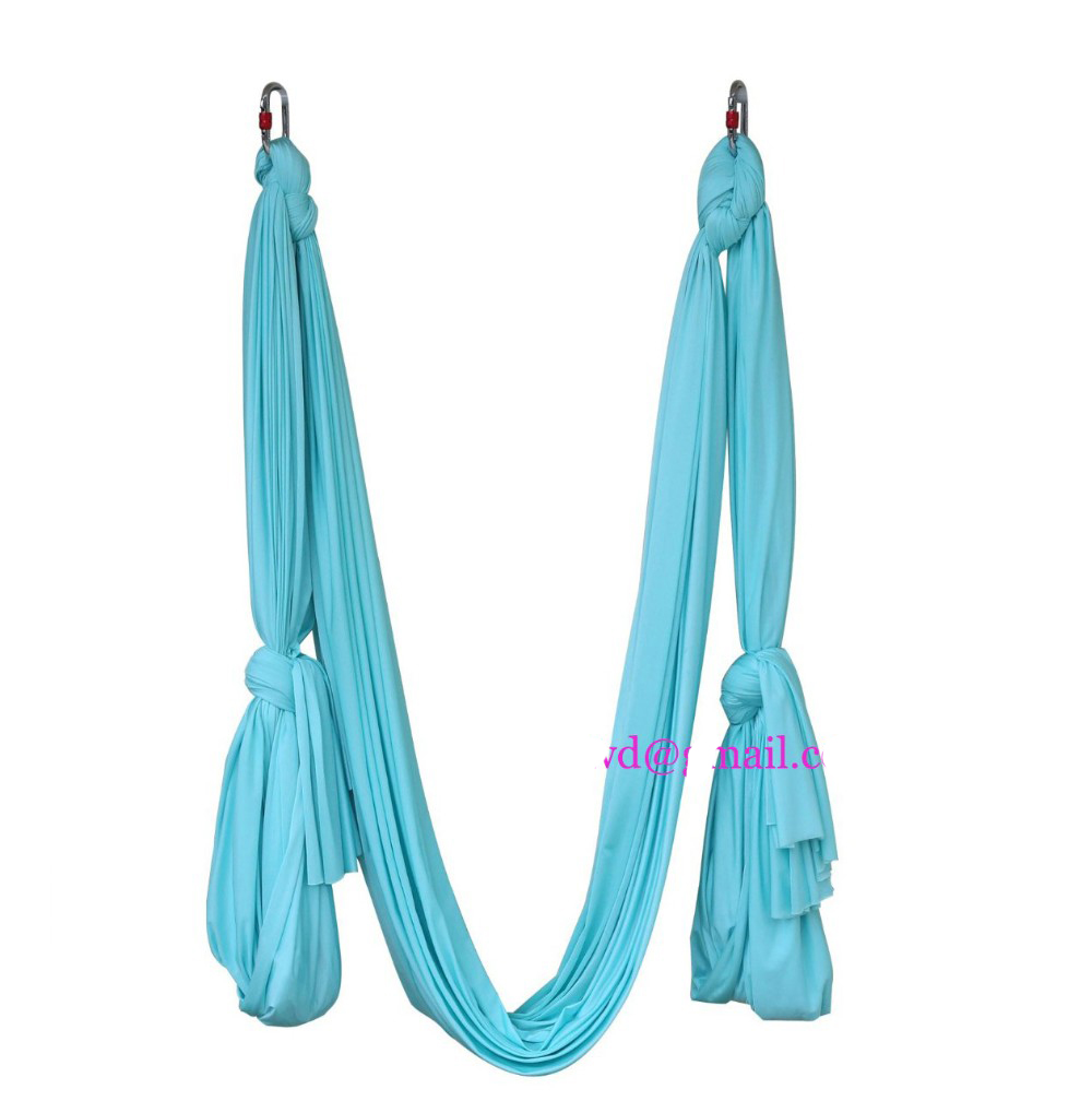 8yards Aerial Flying Anti gravity Yoga Hammock Swing Yoga body building workout fitness Gymnastics Flying Dance