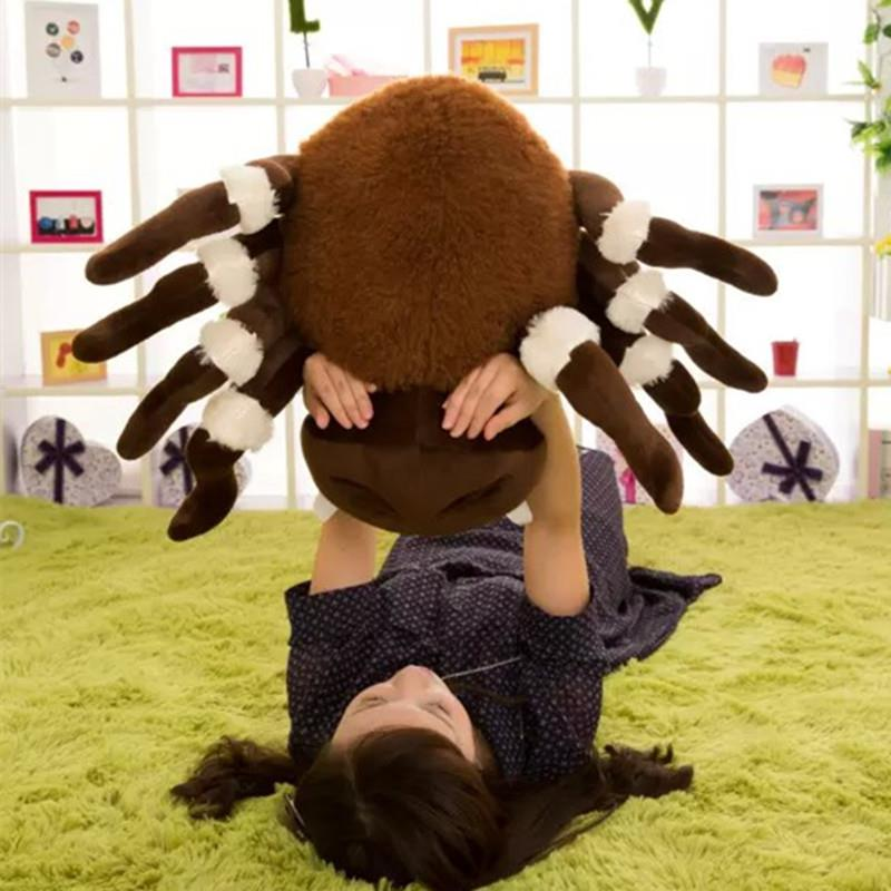 Novelty Toy 80cm Big Soft Emulational Animal Spider Plush Toy 31