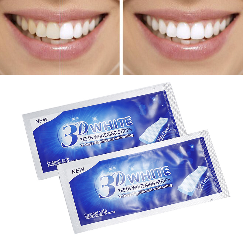 1Pc Daily Life Teeth Cleaning 3D Whiten Tools Teeth Whitening Strips Gel Dental Bleaching Teeth Whitening Teeth Veneers TSLM2