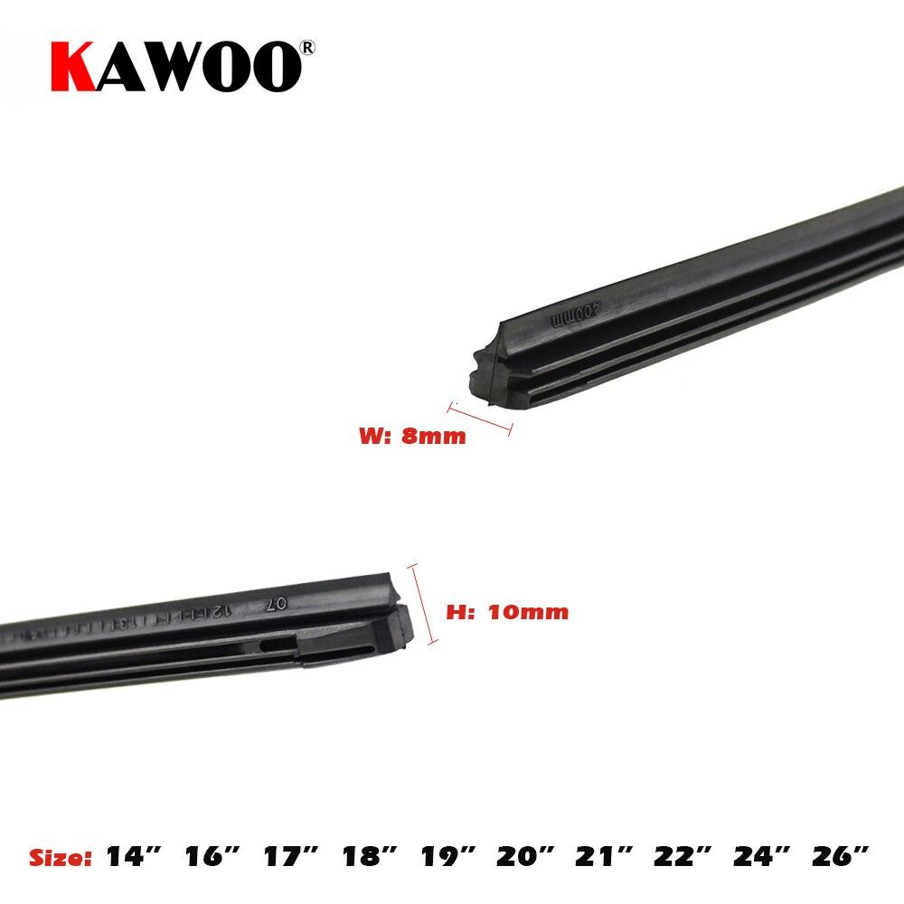 KAWOO Araba Araç Ekleme Kauçuk şerit Silecek Bıçak (Dolum) 8mm - Araba Parçaları - Fotoğraf 3