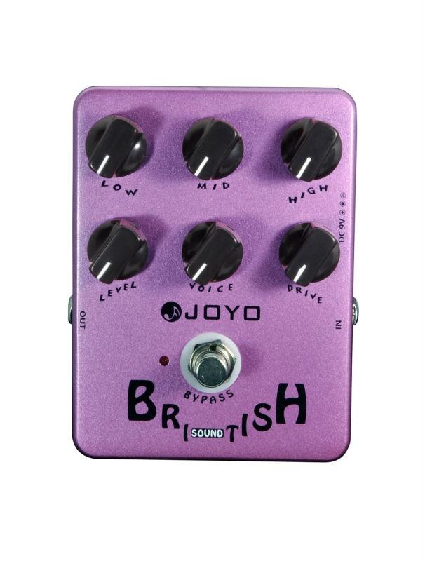 Joyo JF-16 British Sound Electric Guitar Effect Pedal True Bypass