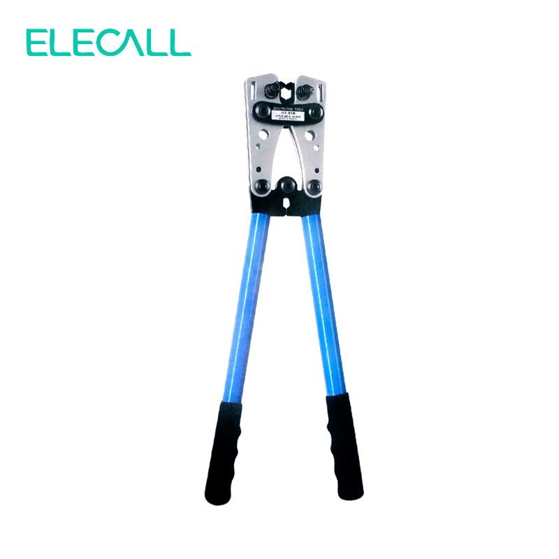 ФОТО Bare Terminal Crimping Pliers Ratchet Terminal Hand Crimping Tool Plier For Crimp Non-insulated Terminal And Connector 6-50mm2