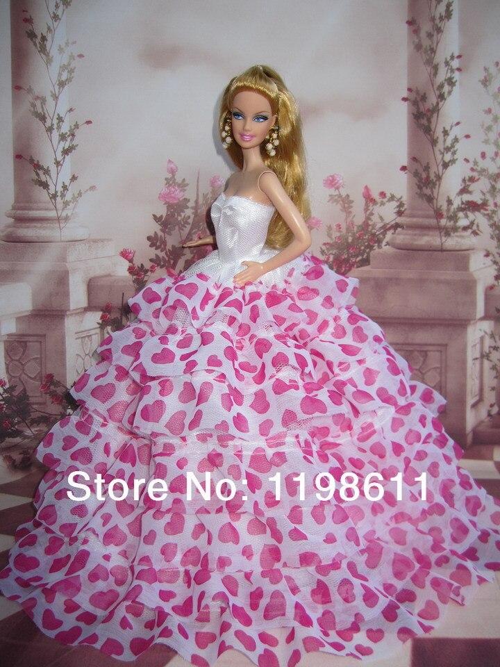 Fancy barbie doll wedding dresses