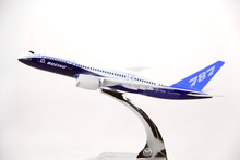 16cm Metal Prototype Air Boeing 787 B787 Airlines Plane Model ProtoMech Development Aircraft Airplane Model w Stand