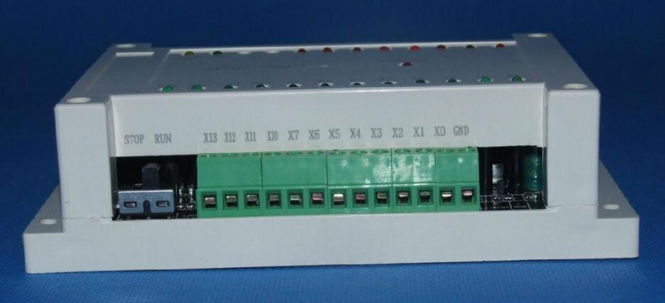 New Original FX2N 20MT PLC 12in 8 Transistors out with RS232 cable FX2N-20MT CF2N-20MT fx2n 8er plc