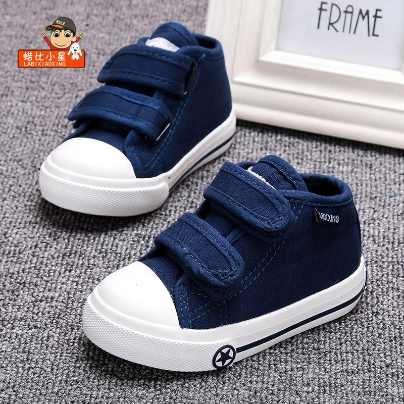 Buty dziecięce białe płótno 4 kolory dla dzieci Dziewczynki i - Buty dziecięce - Zdjęcie 1