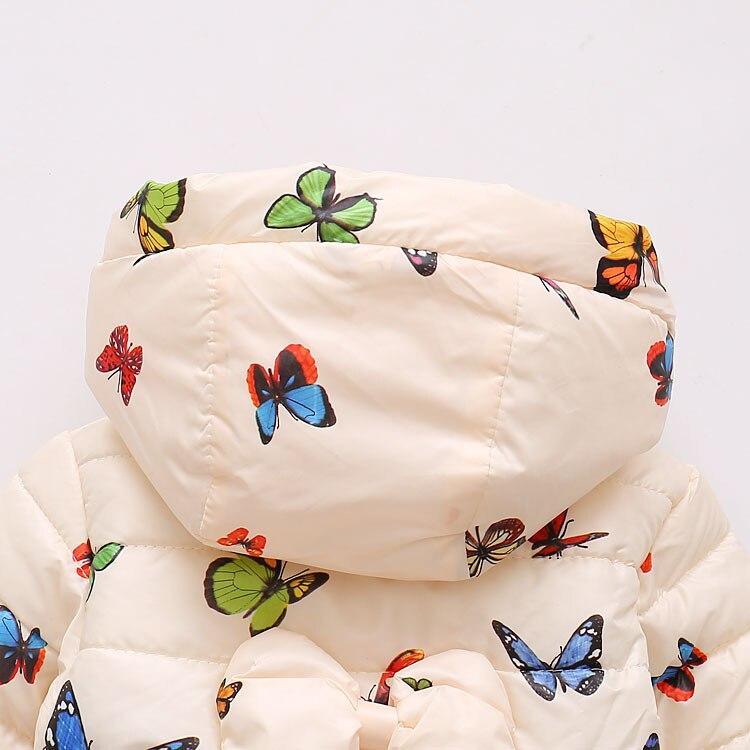 LZH Baby Girls Jacket 19 Autumn Winter Jacket For Girls Coat Kids Warm Hooded Outerwear Coat For Girls Clothes Children Jacket 49
