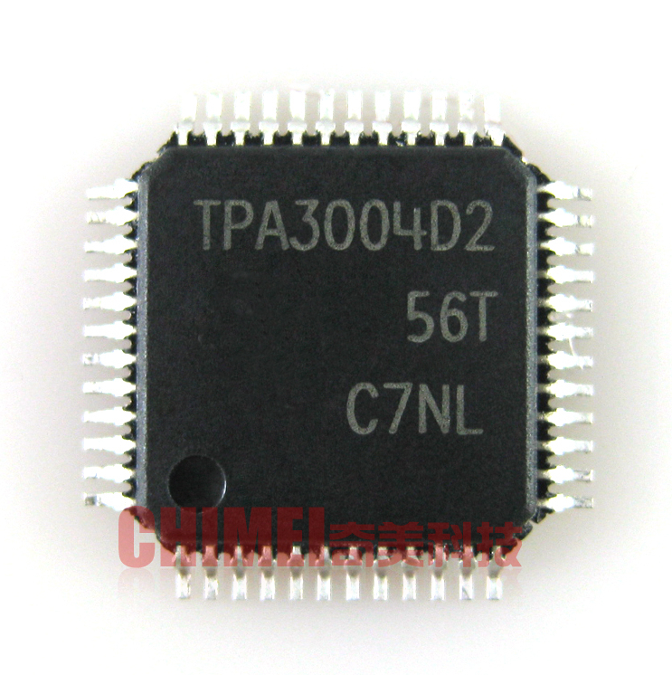 tpa3004d2 lcd tv driver board ic chip ic integrated parts qfp48 in