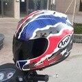 2016 invierno arai moto racing cascos de la cara llena casco de la motocicleta motocross cascos de moto hecha de ABS Tamaño Ml XL XXL