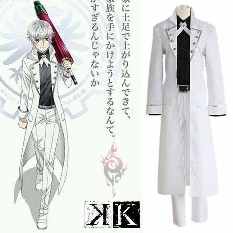 Japanese Anime K cosplay costumes Isana Yashiro  Cosplay Costumes Set Free Shipping