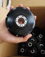 1 قطعة HT100 تيار مستمر فرش محرك معزز لتقوم بها بنفسك روبوت مناور محرك مشترك 3 محور الدوار الداخلي ث AS5048A/AS5600 التشفير