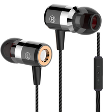 New Design PTM M8 Earbuds Stereo Earphone Hifi Bass Headset with Mic Earpods for Mobile Phone iPhone Xiaomi Airpods