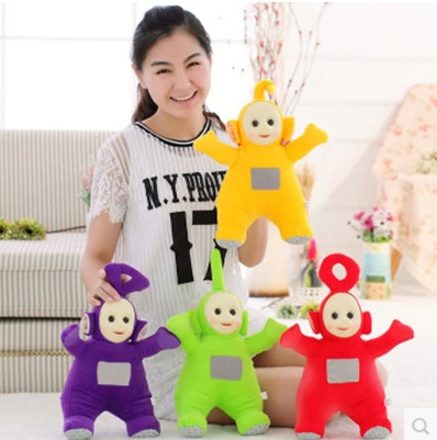 цены на Good Quality 25cm Teletubbies Plush Doll Toys Cute Teletubbies Stuffed plush Dolls Children Kids Toys Birthday Christmas Gift