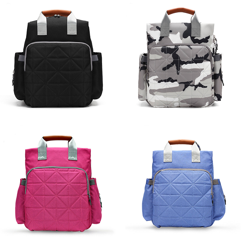 Diaper Bag Large Capacity Waterproof Nappy Bag Baby Care Diaper Handbag Travel Mummy Backpack For Moms Mummy Maternity Baby Bags