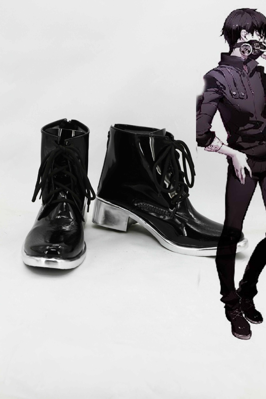 Tokyo Ghoul Kaneki Ken Cosplay shoes boots custom-made