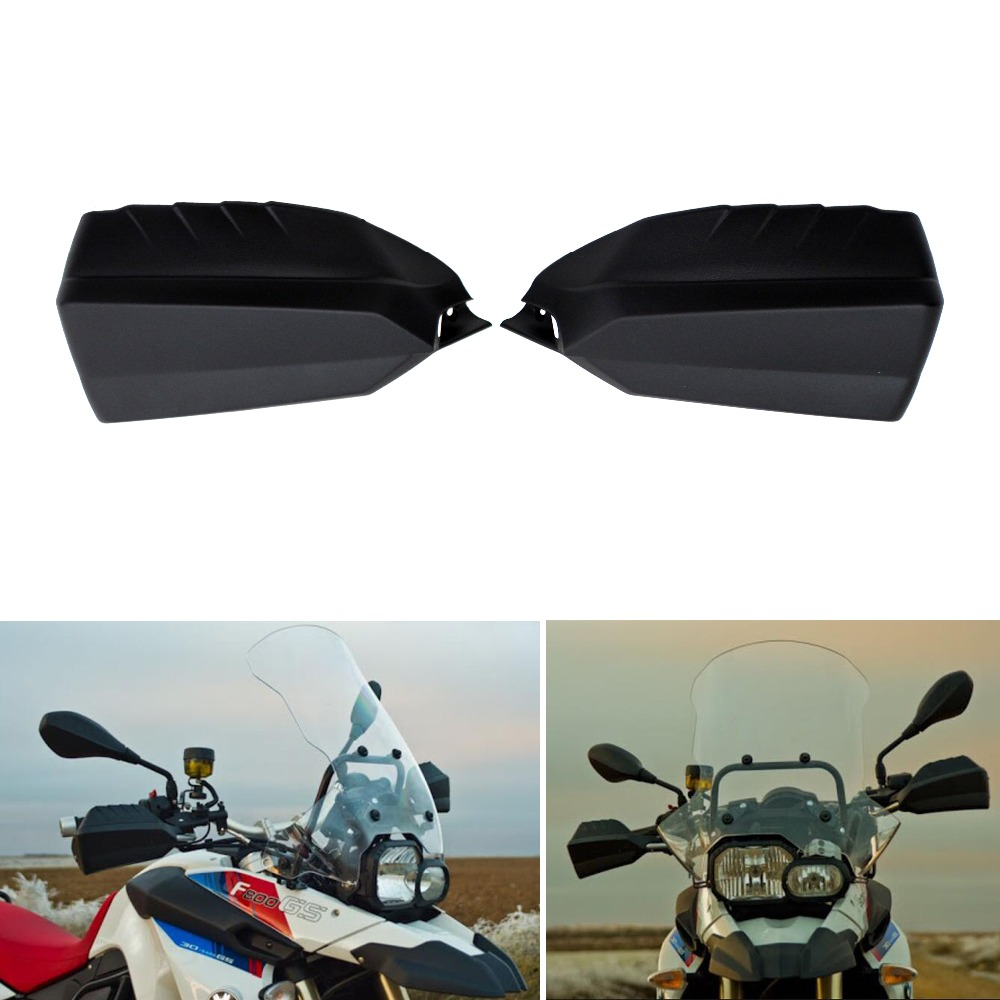 Black Hand Guard Shields Kit Motorcycle Falling Protection Handguards For BMW F650GS  F700GS  F800GS K70 K72