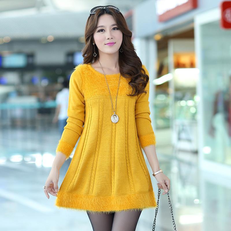 Very best New Design Long Sweaters 2016 Autumn Winter Women Fashion LX67 9eedd59d2