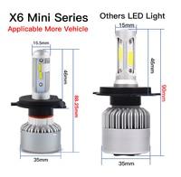 עבור שברולט Bevinsee 1 סט רכב LED ערפל פנסי 9-36V עבור שברולט מפולת 2007 2008 2009 2010 2011 2012 2013 H11 לבן הפנסים (2)