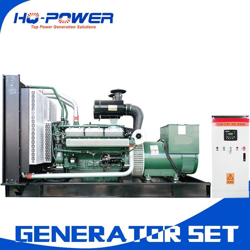 chinese weifang diesel engine gen set 650kw harga generator 3 phase