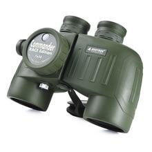 Navy Waterproof Powerful Binoculars 7x50 Navigation Compass Military Rangdfinder Telescope Profssional Nitrogen Day And Night Hd цены