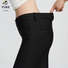 hot deal buy yuke girls pants children's tight leggings elastic slim pants women's elastic pants girls pants 8-15  age plus velvet keep warm