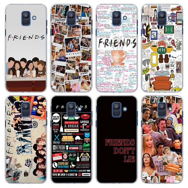 size 40 9ddc4 08dd3 US $2.89 |Best FRIENDS TV SHOW Pattern Transparent hard Case Cover for  Samsung Galaxy A6 A6+ A8 A8 Plus 2018 A520 A720 A3 A5 A7 2017-in  Half-wrapped ...