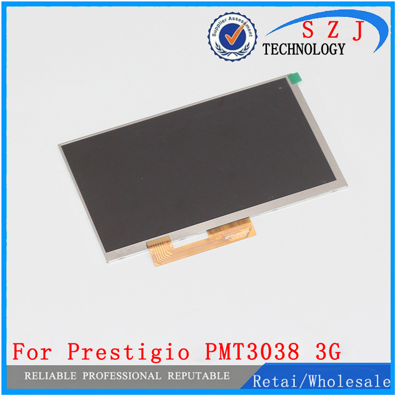 New 7'' inch LCD Display Matrix For Prestigio MultiPad PMT3038 3G Tablet Inner LCD Screen Panel Module Replacement Free Shipping new lcd display matrix for 7 nexttab a3300 3g tablet inner lcd display 1024x600 screen panel frame free shipping