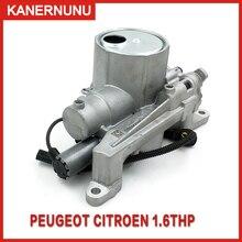 Yepyeni orijinal YAĞ POMPASI meclisi Solenoid vana ile V764737680 1001F9 için Peugeot 207 3008 408 308 508 DS4 DS5 C4 c5 1.6T