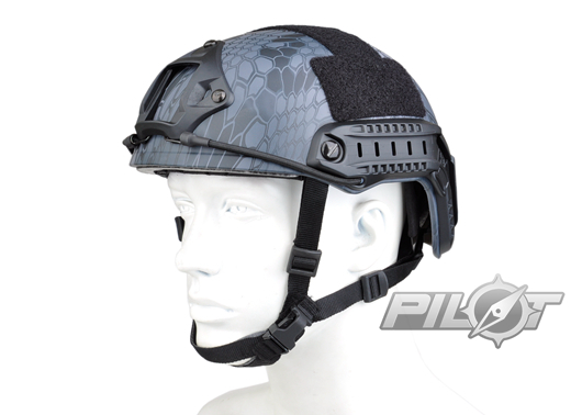 ФОТО 2015 NEW Kryptek Typhon Pilot FAST Helmet Airsoft MH adjustable ABS helmet (PH0601-Typhon)
