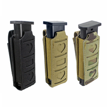 Tactical Molle Mag Pouch Single Magazine Pouch Pistol Gun Mag Bag Waist Belt Multi-tool Pouch Mini Bag Flashlight Holster цены онлайн