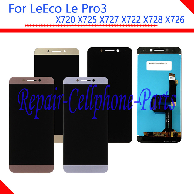 New Full LCD Hiển Thị + Màn Hình Cảm Ứng Digitizer Lắp Ráp Cho LeTV LeEco Le Pro3 Pro 3X720X725X727X722X728x726 Miễn Phí Vận Chuyển