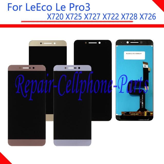 새로운 전체 lcd display + 터치 스크린 디지타이저 어셈블리 letv leeco le pro3 pro 3x720x725x727x722x728x726 무료 배송