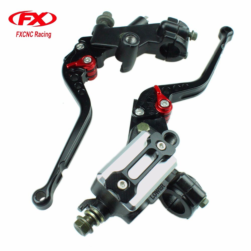 For KTM 125 200 Duke Master Cylinder Reservoir Hydraulic Brake Cable Clutch Levers For Motorcycle Brake and Clutch Levers