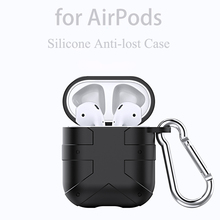 Armor Bluetooth Earphone Case for Airpods 1 2 Soft Silicone  Full Protective Cover