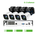 4ch 5MP POE PTZ Kit H.265 System CCTV Sicherheit 8ch NVR Im Freien Wasserdichte 2,8-12mm 4X Optische Zoom IP Kamera Überwachung Video