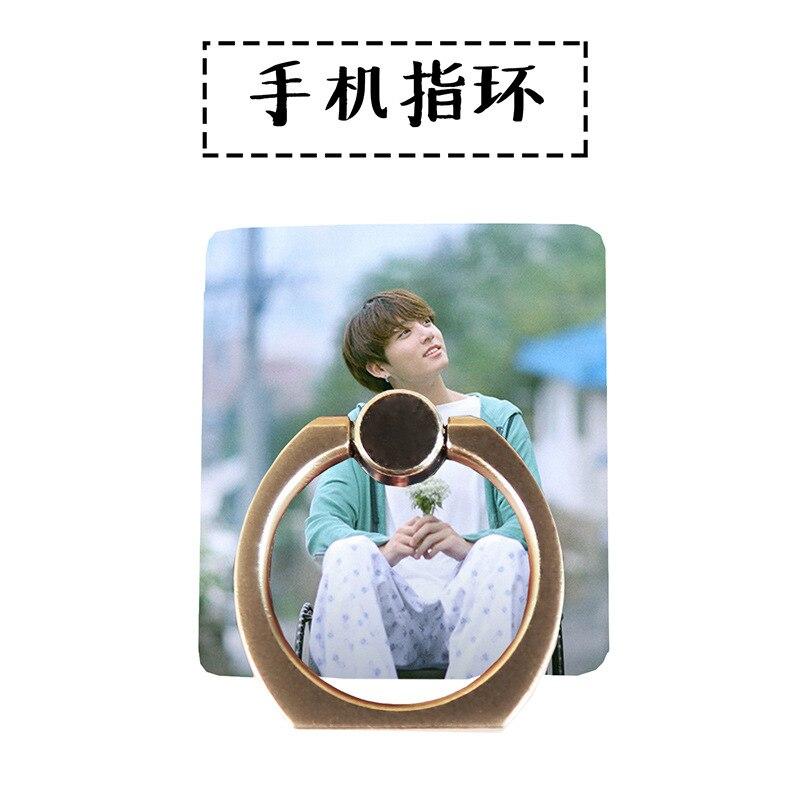 MYKPOP]BTS JUNGKOOK 360 Degree rotate Mobile Phone Desk Holder Finger Ring Holder 4 all Smart Phones KPOP Collection SA18061306