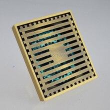 MAIDEER Европейский стиль новый стиль 3 дюймов 100 мм * 100 мм архаизмы латунь трапных